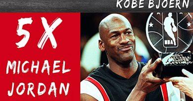 Kobe Bjoern: Die 5 Stufen des Michael Jordan