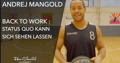 Paul Gudde: Workout mit Andrej Mangold