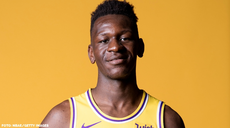 Isaac Bonga Los Angeles Lakers