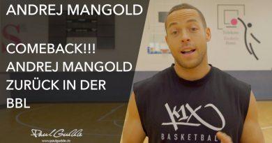 Andrej Mangold zurück in der BBL