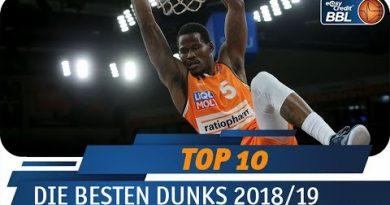 BBL: Die Top Ten Dunks 2018/2019