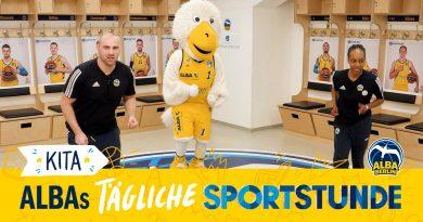 ALBA BERLINs tägliche Sportstunde für Kita-Kids