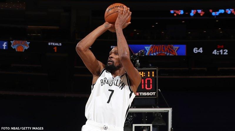 Durant führt Nets mit denkwürdiger Leistung zum Sieg