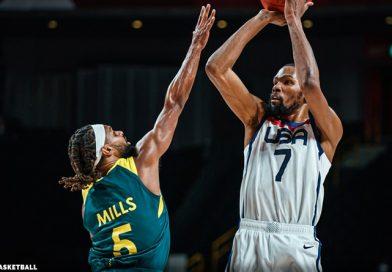 USA kontrolliert Australien trotz 15-Punkte-Rückstand