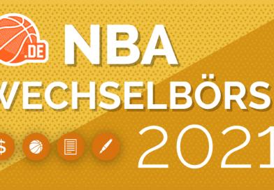 NBA-Wechselbörse 2021 ist online